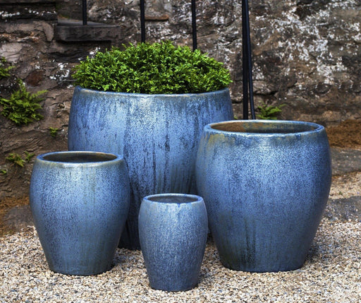 Chantal Planter in Blue Pearl