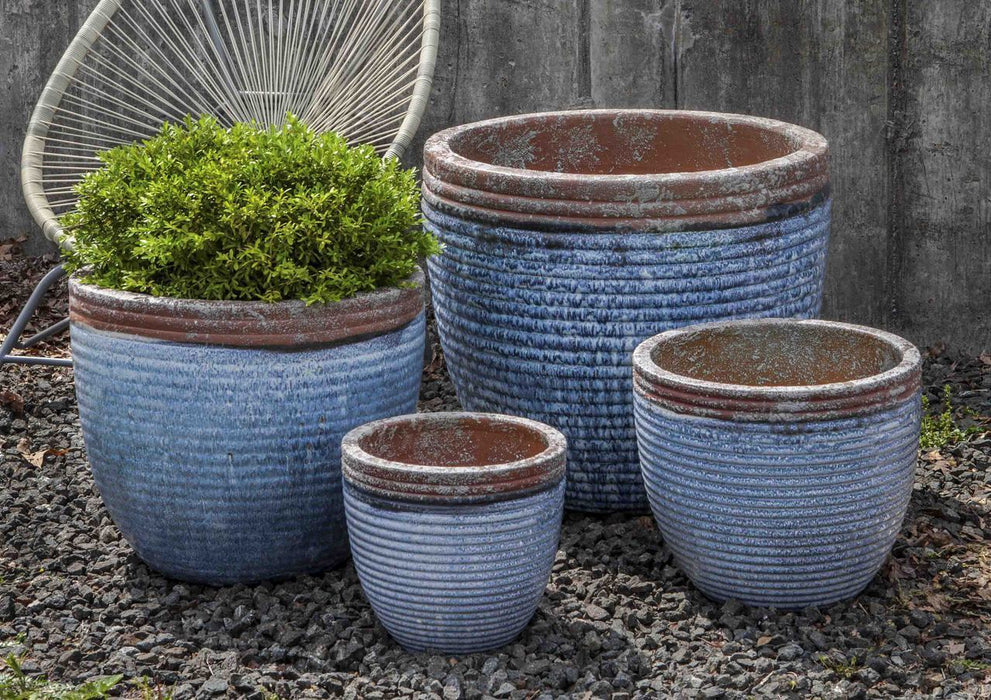 Nevis Planter - Set of 4 in Beachcomber