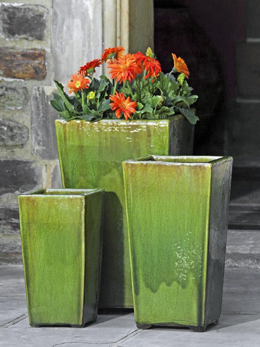 Borneo Planter Set of Three in Highland Moss