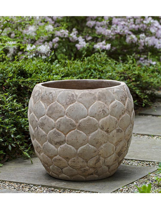Pina Planter - Set of 3 in Antico Terra Cotta