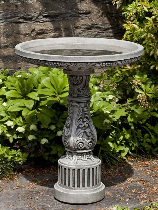 Smithsonian Cottage Garden Birdbath