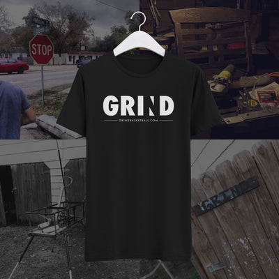 "The ""OG"" GRIND Basketball T-Shirt helped us fund the company way back when our office was a garage. Get the shirt behind the world's best Basketball Shooting Machine and start improving your Basketball Shooting. Hate chasing down rebounds? Use the World's First Portable Basketball Rebounder to improve your game."