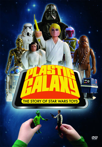"""Plastic Galaxy: The Story of Star Wars Toys"" DVD"