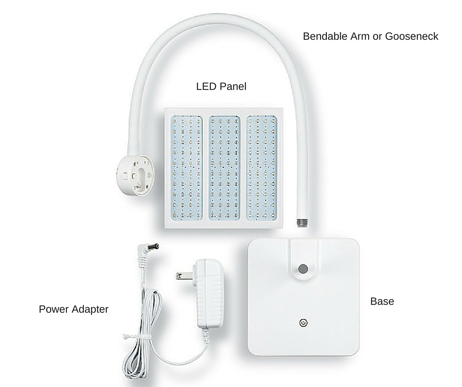 LED Light Therapy Parts