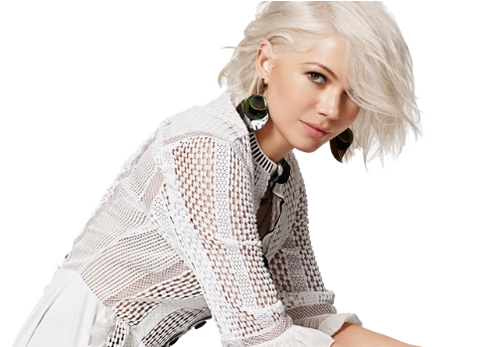 Michelle Williams has great skin