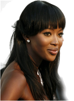 Naomi Campbell uses combination treatment of microdermabrasion and chemical peeling to renew her skin