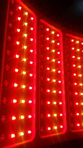 RejuvaliteMD red light therapy with unlit infrared panels