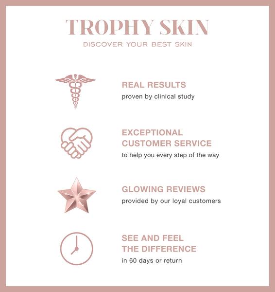 TROPHY SKIN infographic