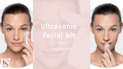 Ultrasonic facial kit