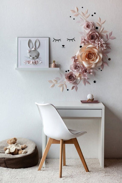 Decorate Room With Paper Flowers