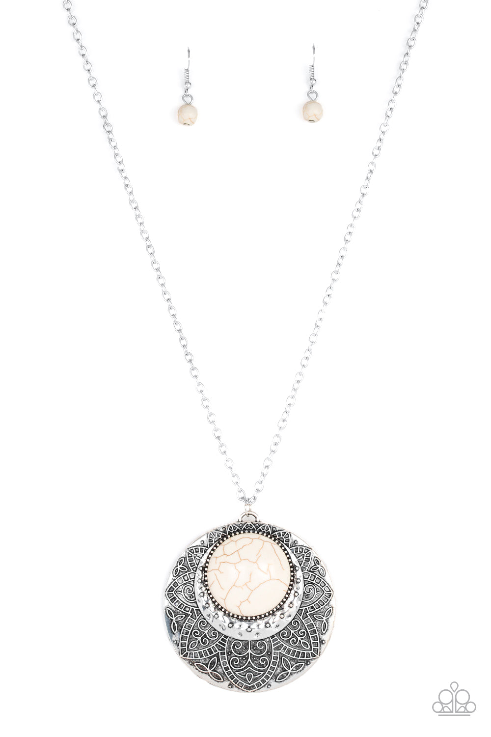 Medallion Meadow Necklace