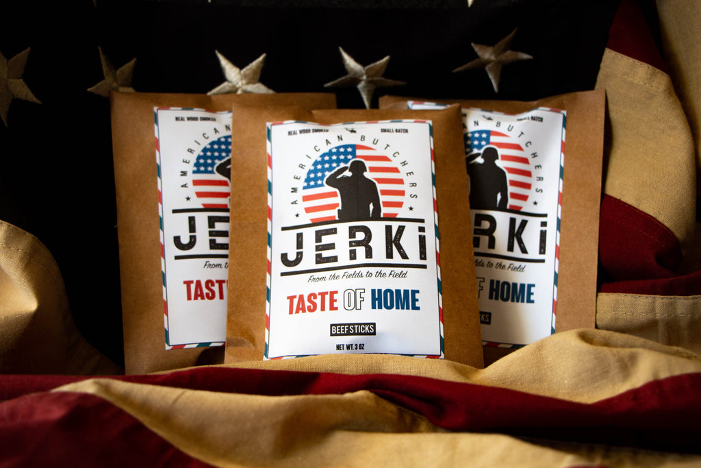Taste of Home - Beef sticks provided for all military members serving overseas with each purchase