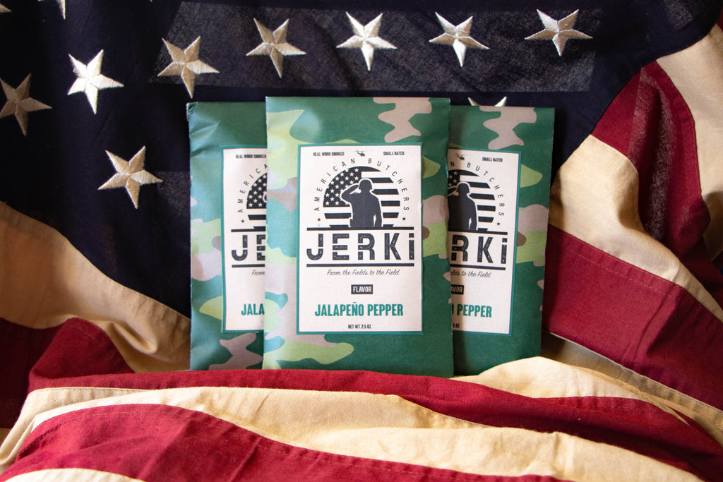 Jalapeno Pepper Beef Jerky - American made and veteran owned and operated