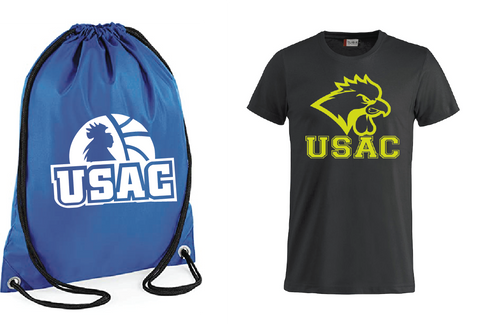 PACK SACCA + T SHIRT