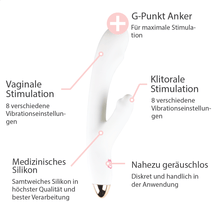 Lade das Bild in den Galerie-Viewer, Rabbit Vibrator mit Heizfunktion