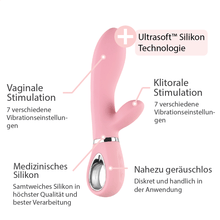 Lade das Bild in den Galerie-Viewer, Rabbit Vibrator mit separaten Vibrationen