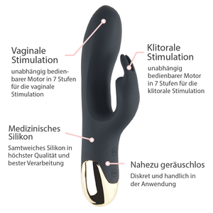 Rabbit Vibrator mit Vibrations-Öhrchen