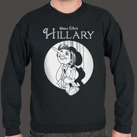 Hillary Clinton Pinocchio Sweater (Mens)