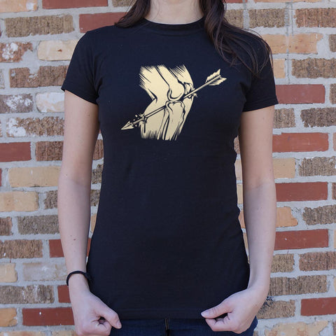 Arrow In The Knee T-Shirt (Ladies)