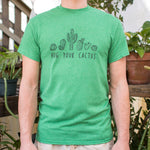 Hug Your Cactus T-Shirt (Mens)
