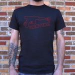 The Cantina Neon Sign T-Shirt (Mens)