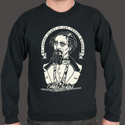 Charles Dickens Quote Sweater (Mens)