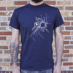Geek At Heart Circuit T-Shirt (Mens)