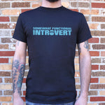 Somewhat Functional Introvert T-Shirt (Mens)