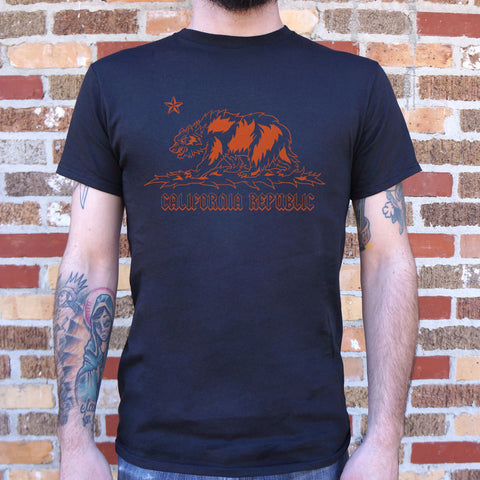 Metal California T-Shirt (Mens)