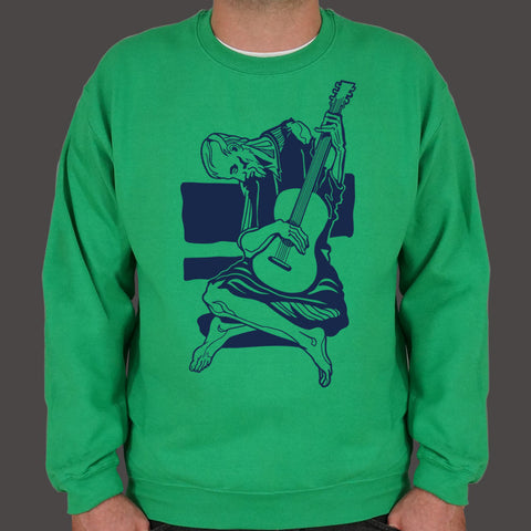 Old Guitarist Sweater (Mens)
