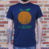 Orange U Glad? T-Shirt (Mens)