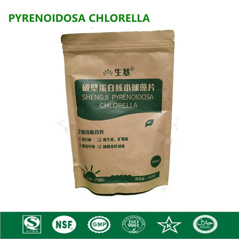Organic Chlorella Vulgaris Chlorella Pyrenoidosa Tablet Broken High Quality Rich of Chlorophyll,Protein