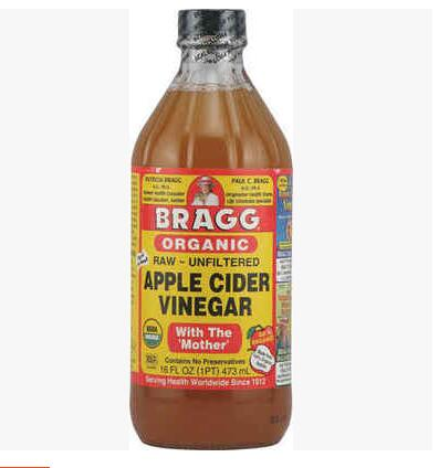 United States original import Bragg apple cider vinegar apple vinegar 473ml
