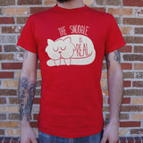 The Snuggle Is Real T-Shirt (Mens)