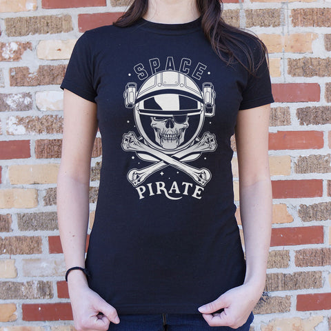 Space Pirate T-Shirt (Ladies)