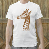 Placid Giraffe T-Shirt (Mens)