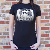 They Live On TV T-Shirt (Ladies)