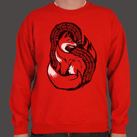 What Does The Fox Say Sweater (Mens)