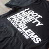99 Problems Black Unisex Tee Ginger Problems