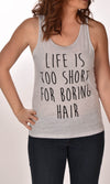 Life is Too Short For Boring Hair Unisex Tank Ginger Problems