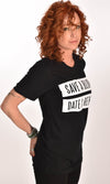 Save A Blonde Date a Redhead Black Unisex Tee Ginger Problems