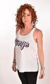 Ginge Hustle Flowy Racerback Tank Ginger Problems