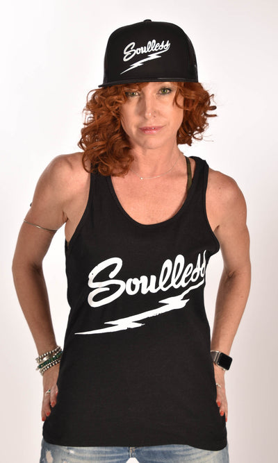 Soulless Heather Black Unisex Tank - XXL Ginger Problems