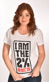 I am the 2% Raw Neck Unisex Tee Ginger Problems