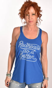 Redheads Do It Better Flowy Tank Top Ginger Problems - Red Hair Don't Care