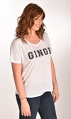 Ginge Varsity Flowy Simple Tee Ginger Problems