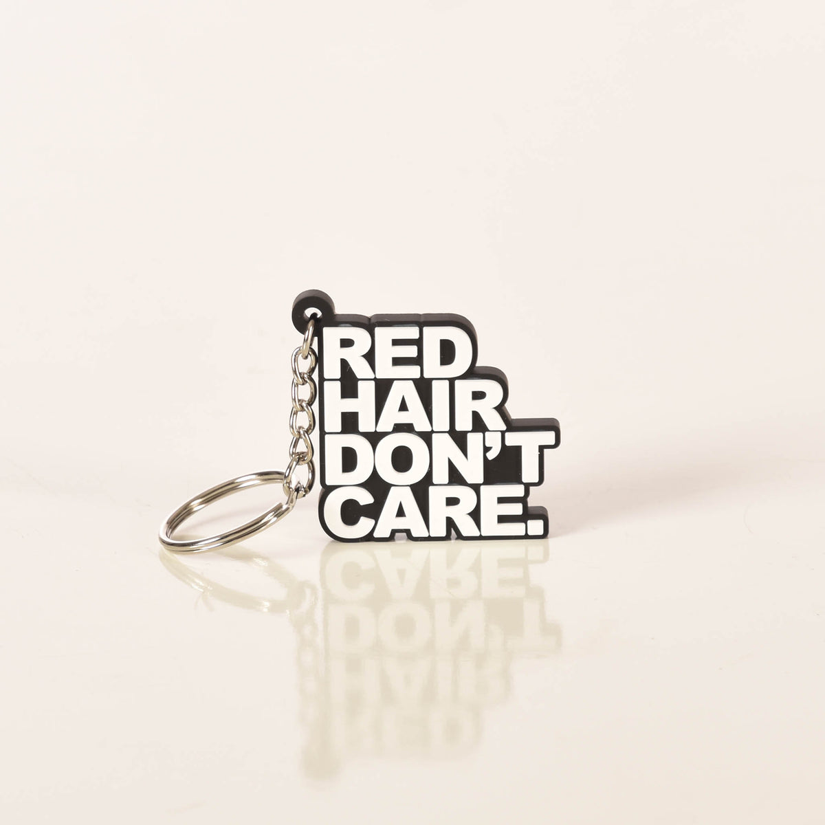 Red Hair Don't Care Classic Keychain Ginger Problems