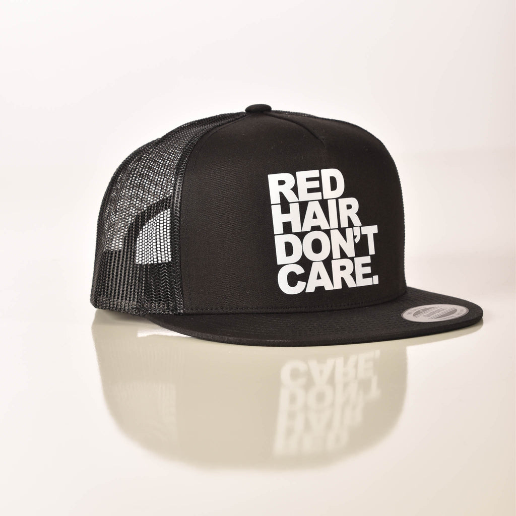 Red Hair Don't Care Snapback Hat Ginger Problems - Red Hair Don't Care