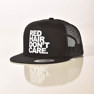 Red Hair Don't Care Snapback Hat Ginger Problems