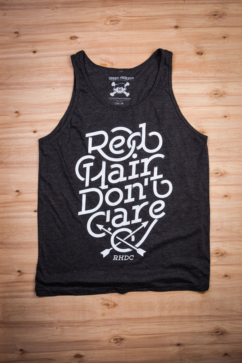 Red Hair Don't Care Fade Tank Top Ginger Problems